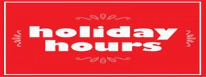 Christmas Day open at 5pm